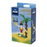 Plus-Plus Pirate Mini Basic 70 peças