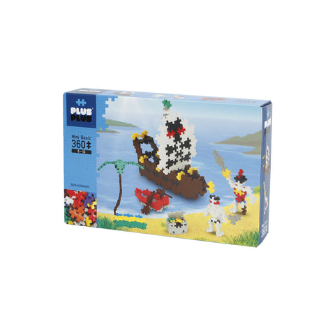 Plus-Plus Pirates Mini Basic 360 peças