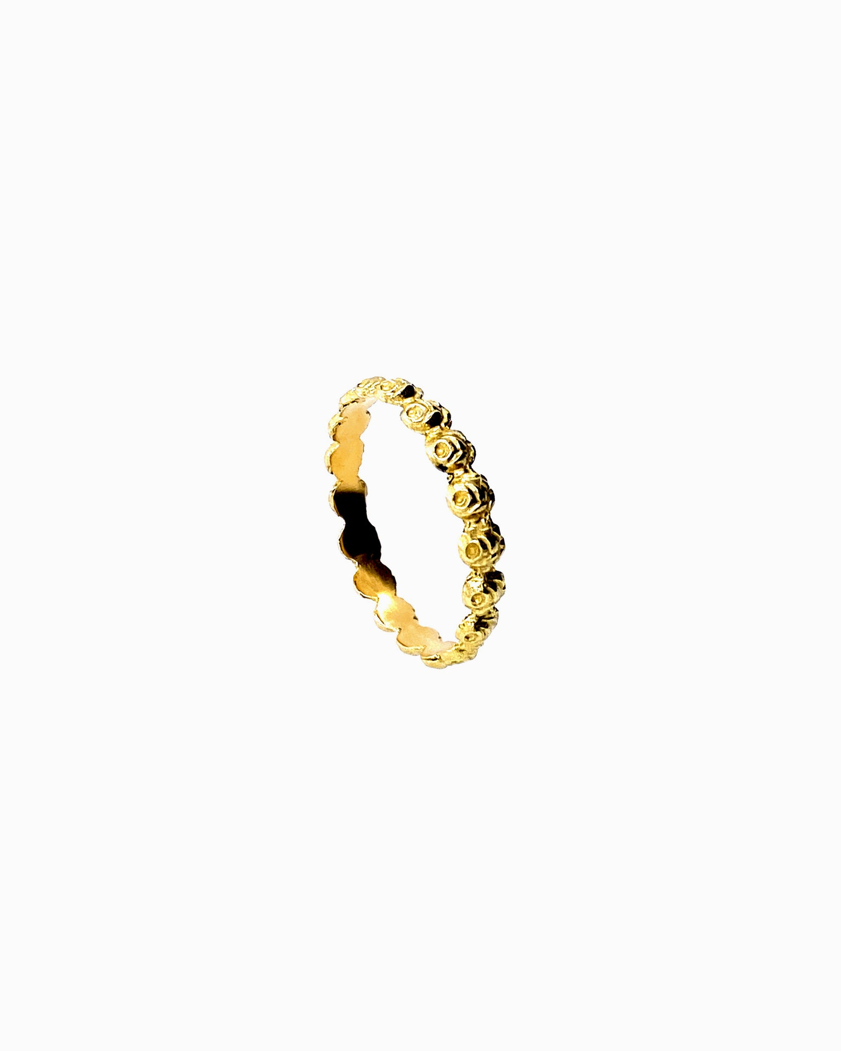 Rose ring 18k gold - IDAMARI