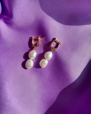Lilja earrings - IDAMARI