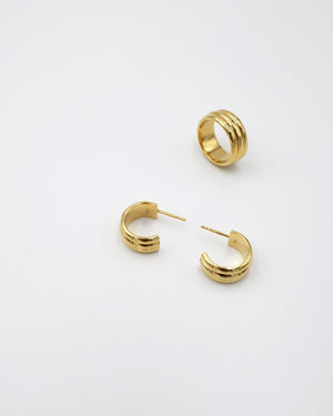 Saga earrings - IDAMARI