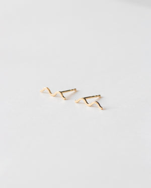 Unna wave earrings - IDAMARI