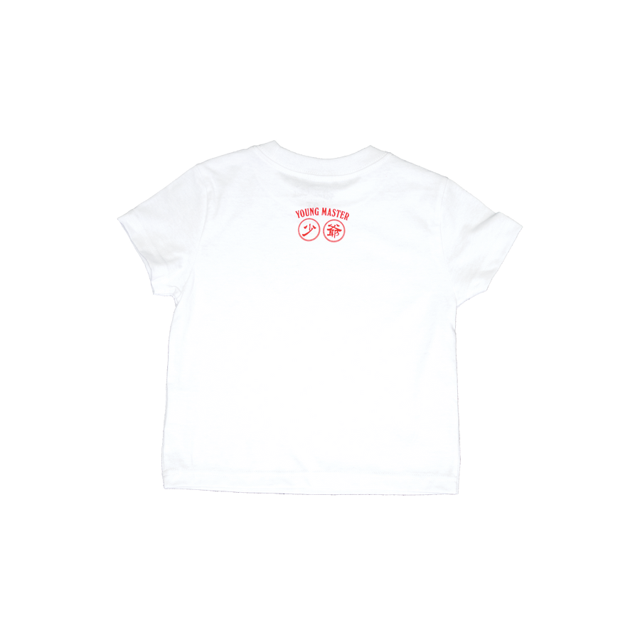 YM White Tee - Youth