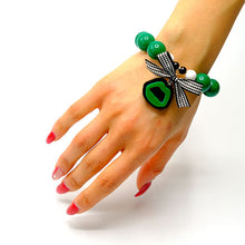 Load image into Gallery viewer, BRACCIALE KISS BABY VERDE - malikaforhappypeople
