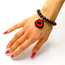 Load image into Gallery viewer, BRACCIALE MINI KISS ROSSO - malikaforhappypeople