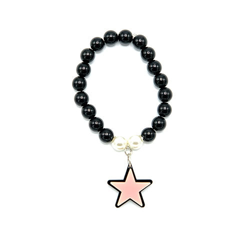 BRACCIALE MINI STAR ROSA - malikapeople