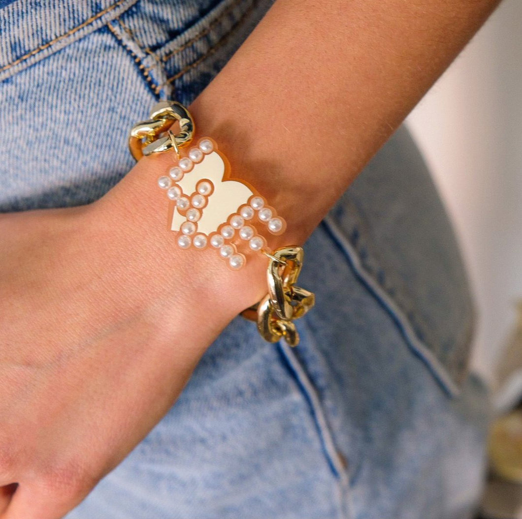 BRACCIALE LO.VE CHAIN - malikapeople