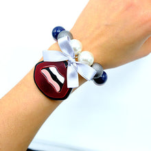 Load image into Gallery viewer, BRACCIALE KISS BORDEAUX - malikaforhappypeople