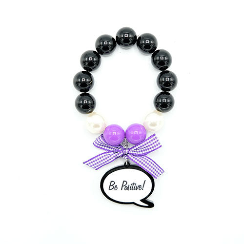 BRACCIALE CARTOON BE POSITIVE - malikapeople