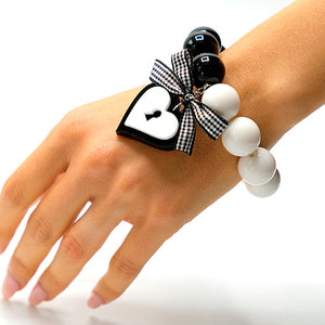BRACCIALE LOVE LOCKED BIANCO - malikapeople