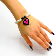 Load image into Gallery viewer, BRACCIALE MINI LOVE LOCKED FUCSIA
