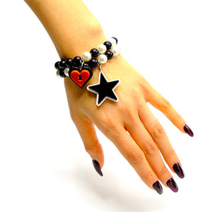 BRACCIALE MINI LOVE LOCKED ROSSO