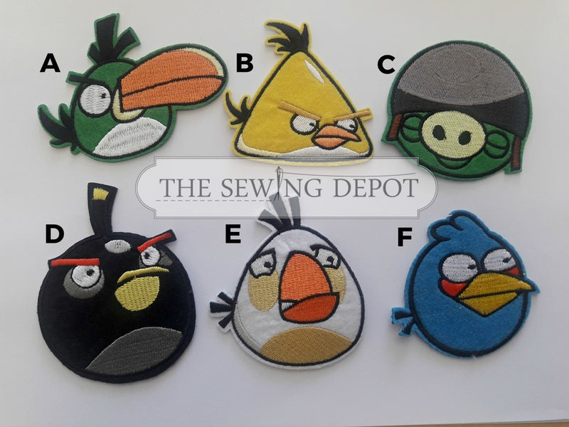 Angry Birds Motifs - Large