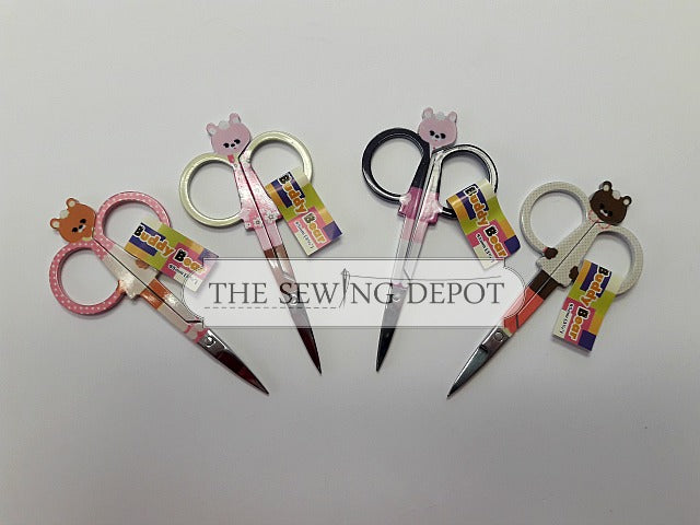 Buddy Bear Embroidery Scissors