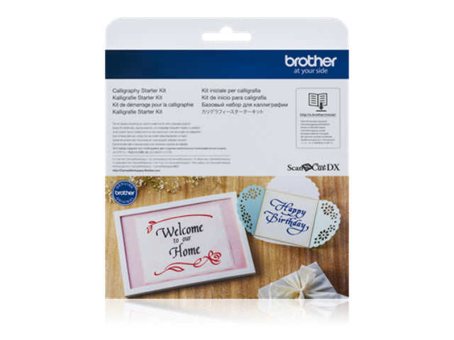 NEW! Brother Scan NCut Calligraphy Starter Kit
