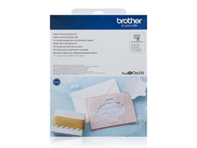 NEW! Brother Scan NCut Paper Piercing Starter Kit
