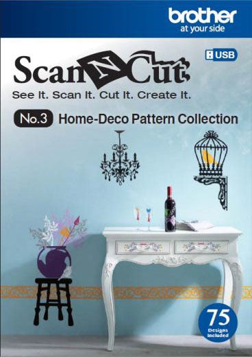 Scan N Cut Home Deco Pattern Collection - No.3