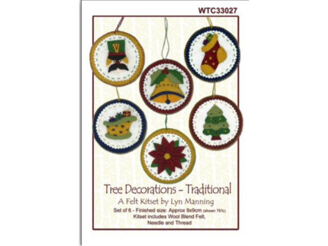 Traditional Tree Decorations