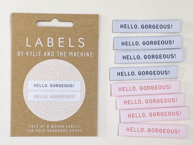 "Woven Labels - ""Hello, Gorgeous!"""