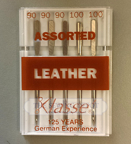 Home Sewing Machine Needles - Leather