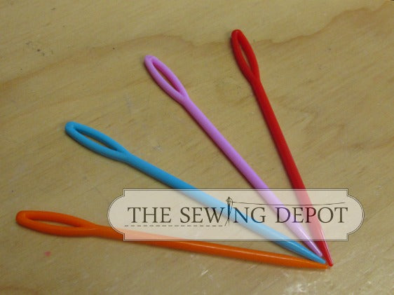Plastic Sewing Needles - Large