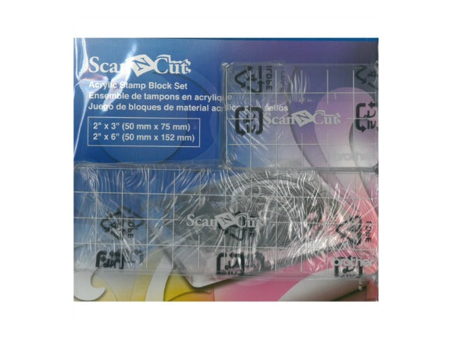 Scan N Cut Acrylic Block Set