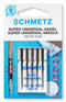 Schmetz Home Sewing Machine Needles - Super Universal Non-Stick