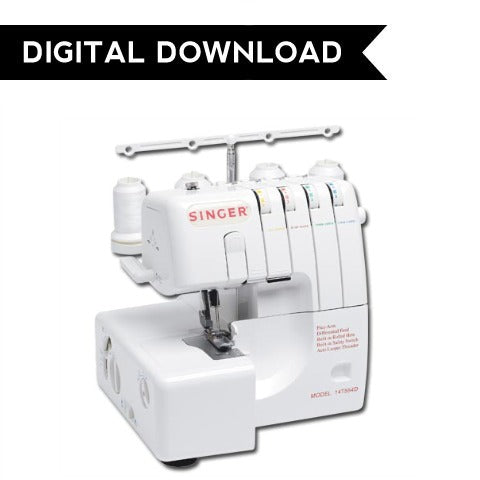 Singer 14T554 Overlocker Manual