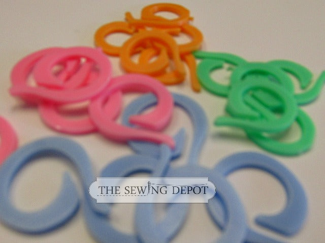 Split Ring Stitch Markers - 20Pk