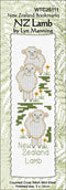 NZ Lamb Bookmark