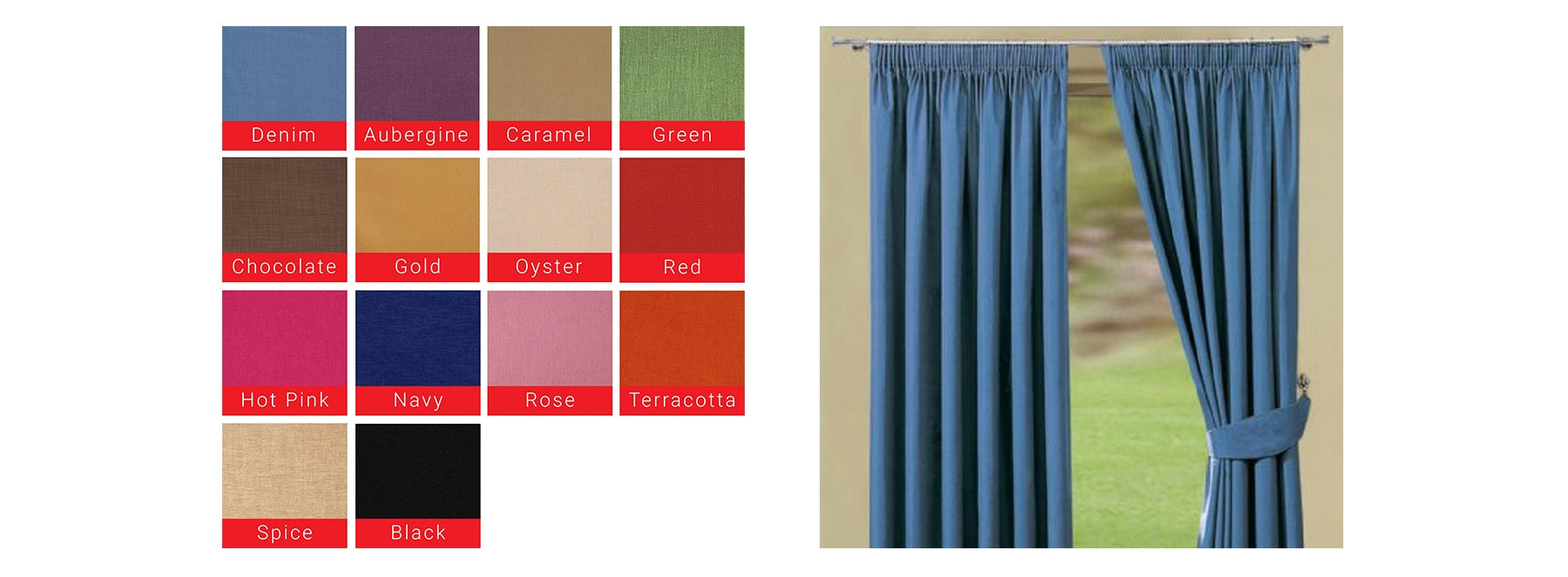 Curtains by Property Letting Furniture Solutions PLFS