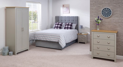 Cannes Double Divan Bed - Property Letting Furniture