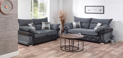 Poole 3 & 2 Seater Sofa Combo - Property Letting Furniture