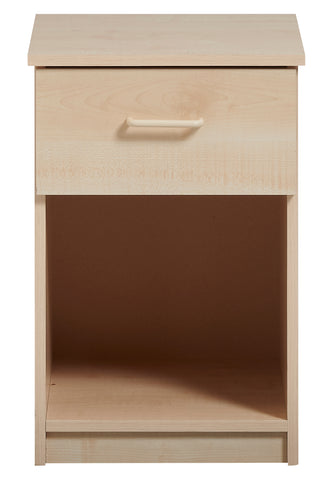 Calgary 1 Drawer Bedside (with Lock) - Property Letting Furniture
