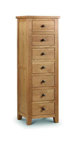 Marlborough 7 Drawer Tall Chest - Property Letting Furniture