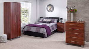 Otto Double Non Storage Bed - Property Letting Furniture