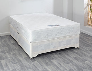 Super Ortho Double Divan Set (Base & Mattress) - Property Letting Furniture