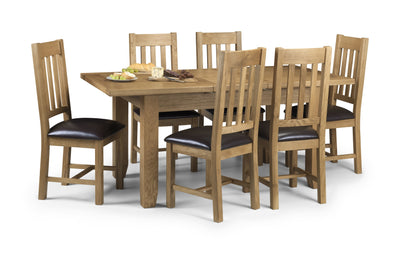 Astoria Dining Table & 6 Chairs - Property Letting Furniture