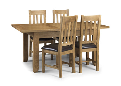 Astoria Dining Table & 4 Chairs - Property Letting Furniture