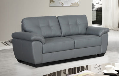 Brisbane 3 Seater Sofa - Grey - Property Letting Furniture