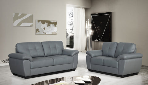 Brisbane 2 x 2 Seater Sofa Combo - Grey - Property Letting Furniture