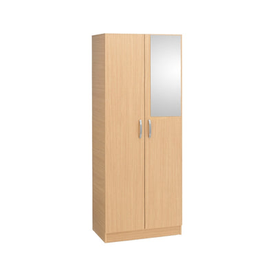 Calgary 2 Door Wardrobe (With Mirror) - Property Letting Furniture