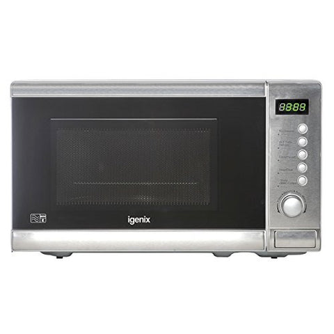 Igenix Electric Microwave - Silver - Property Letting Furniture