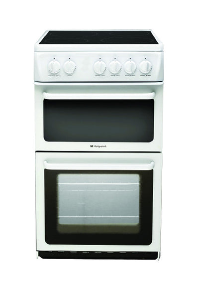 Hotpoint Double Electric Oven - 50cm Wide - Property Letting Furniture