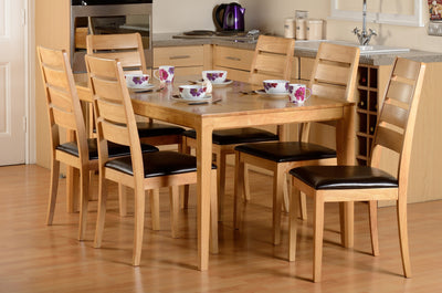 Logan Dining Table & 6 Chairs