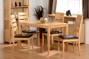 Logan Dining Table & 4 Chairs - Property Letting Furniture