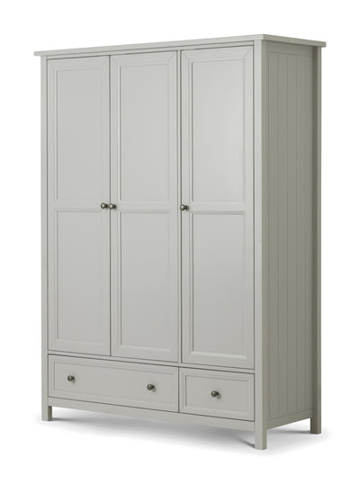 Maine 3 Door Combi Wardrobe - Property Letting Furniture