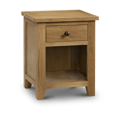 Marlborough 1 Drawer Bedside - Property Letting Furniture