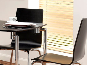 Naples Square Dining Table & 2 Chairs - Property Letting Furniture