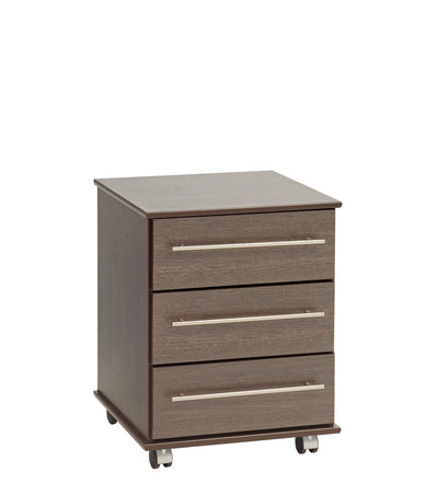 New York 3 Drawer Bedside - Property Letting Furniture